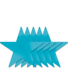 Cutouts-Star-Turquoise-9''-Foil