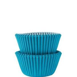 Baking Cups-Carribean Blue-2''-75pk
