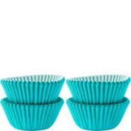 Baking Cups-Carribean Blue-1.25''-100pk