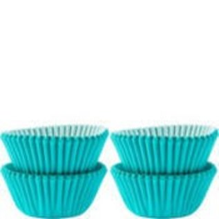 Baking Cups-Carribean Blue-1.25''-100pk