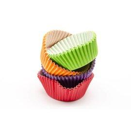 Baking Cups-Multi Color-1.25''-100pk