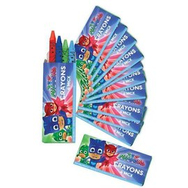Crayons-PJ Masks-12packs/4 each