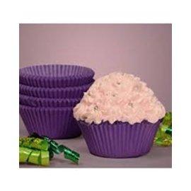 Baking Cups-New Purple-2''-75pk