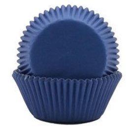 Baking Cups-Bright Royal Blue-2''-75pk