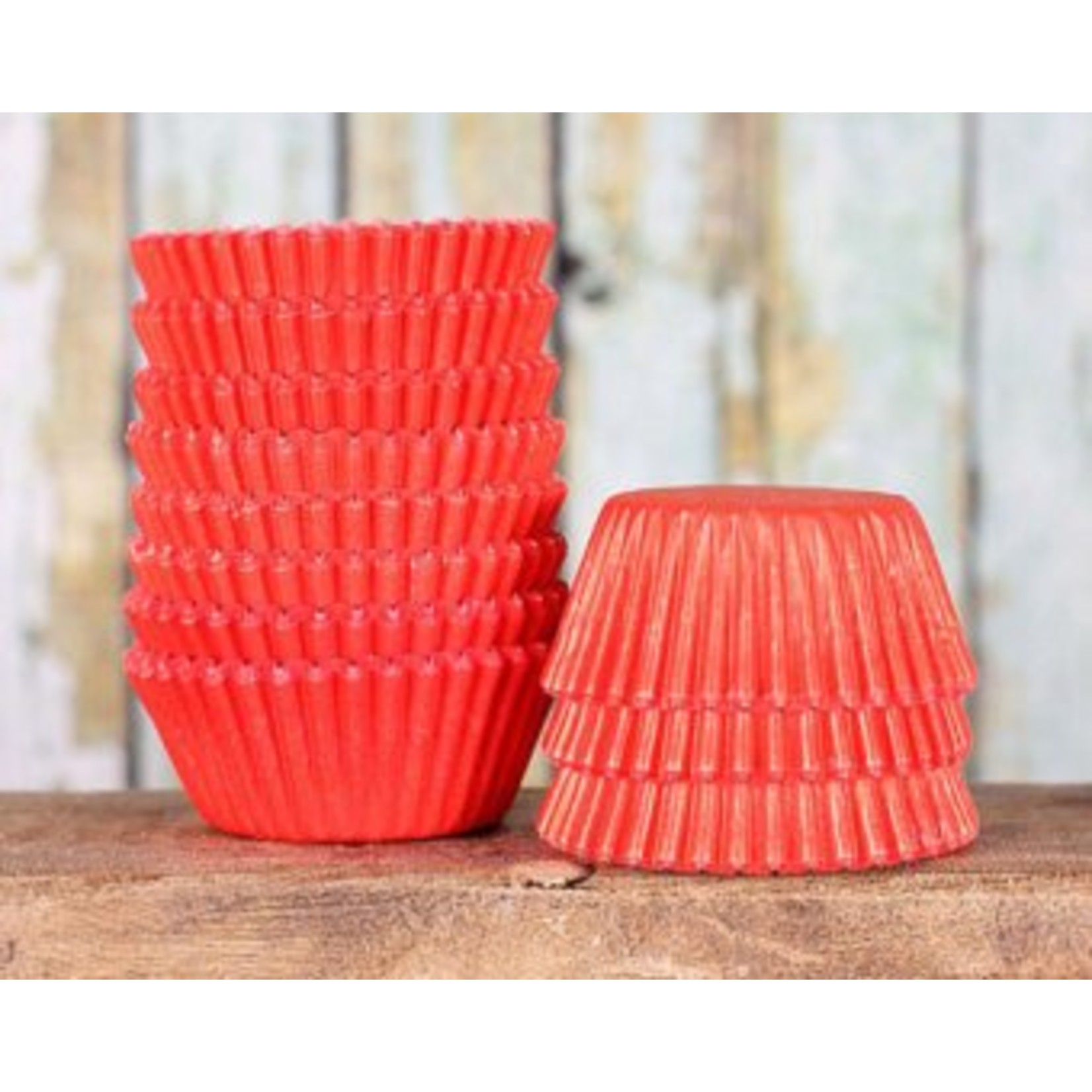 Baking Cups-Apple Red-2''-75pk