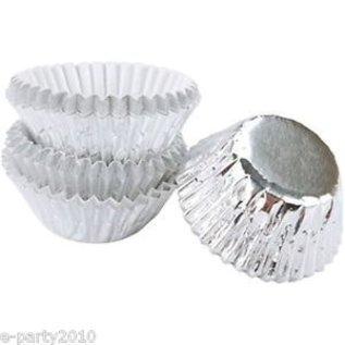 Baking Cups-Foil-Silver-1.25''-75pk