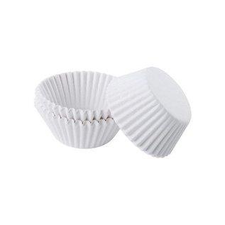 Baking Cups-White-1.25''-100pk