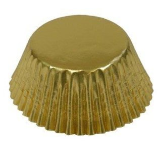 Baking Cups-Foil-Gold-1.25''-75pk