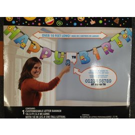 Banner Kit-Emoji Add-An-Age-10.5ft