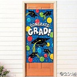 Door Cover - Graduation  (Seasonal) - Discontinued