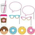 Photo Props-Donut Time-10''-10pcs