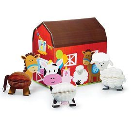 Centerpiece Set-Farmhouse Fun-4pk