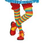 Clown Striped Tights-1 PR