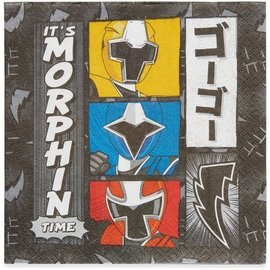 Napkins-LN-Power Rangers Ninja Steel-16pk-2ply