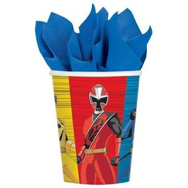 Cups-Power Ranger Ninja Steel-9oz-8pk-Paper