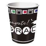 Cups -Congrats Grad-9oz-8pk-Paper -Discontinued