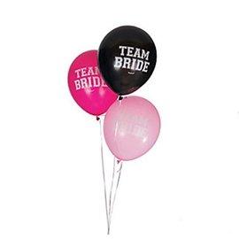 "Balloons-Latex-Team Bride-15pk-12"""