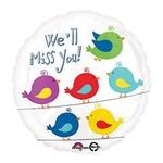 Foil Balloon - We'll Miiss You! - 18''