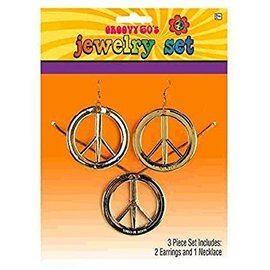 Jewelry Set-Groovy 60's-3pk