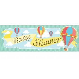 Banner-Baby Shower Up Up and Away-20''x60''