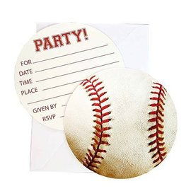 Invitations-Sport Fanatic Baseball-8pk