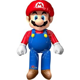 Foil Balloon-Super Shaped Super Mario-60in