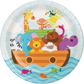 Plates-BEV-Noah's Ark-8pk-Paper