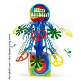Centerpiece-60's Groovy HBD-8.5in