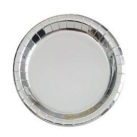 Plates-BEV-Silver Foil-8pk