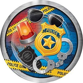 Plates-LN-Police Party-8pk-Paper