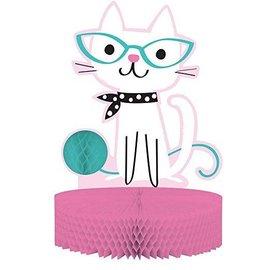Centerpiece-Cat Purefect Party-9''x12''