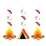 Hanging Decorations-Camp Out-36''-3pk