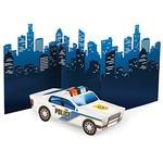 Centerpiece-3D Police Car-27''x11.27''