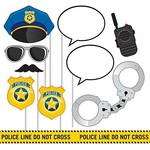 Photo Props-Police Party-10pk