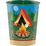 Plastic Cup-Camp Out-16oz