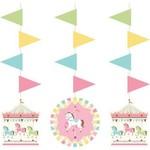 Hanging Cutouts-Carousel-36''-3pk