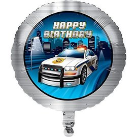 Foil Balloon-Police Party-18''