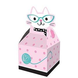 Favor Box-Cat Purr-Fect Party