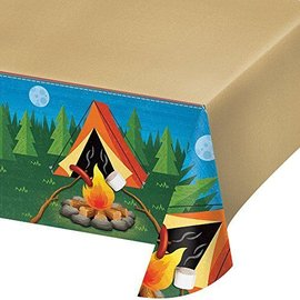 Table Cover-Camp Out-54''x102''-Plastic