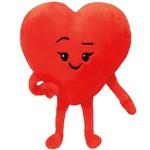 Beanie Boos-Emoji Heart-6''