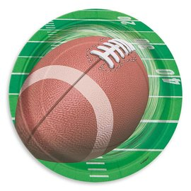 Paper Plates - Football Game Day - 8pcs