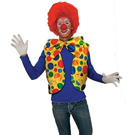 Clown Vest-Adult Size Chest 42