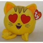 Beanie Boos-Emoji Cat With Heart Eyes-6''