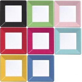 Paper Plates Square 12pc