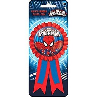 Award Ribbon-Spider Man w/Confetti
