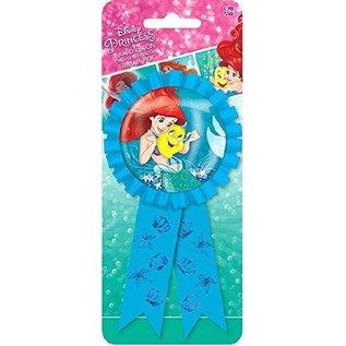 Award Ribbon-Little Mermaid Ariel w/Confetti