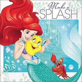 Napkins-BEV-Little Mermaid Ariel-16pk-2ply