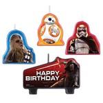 Candle Set-Star Wars-4pk