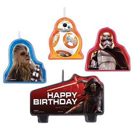 Candle Set-Star Wars-4pk