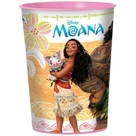 Plastic Cup-Moana-16oz